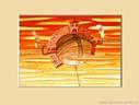 HISTORIE W CHMURACH XV, 20x25cm  własność prywatna