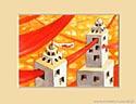 HISTORIE W CHMURACH XXX , 20x25cm  własność prywatna