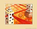 HISTORIE W CHMURACH XXXI , 20x25cm  własność prywatna